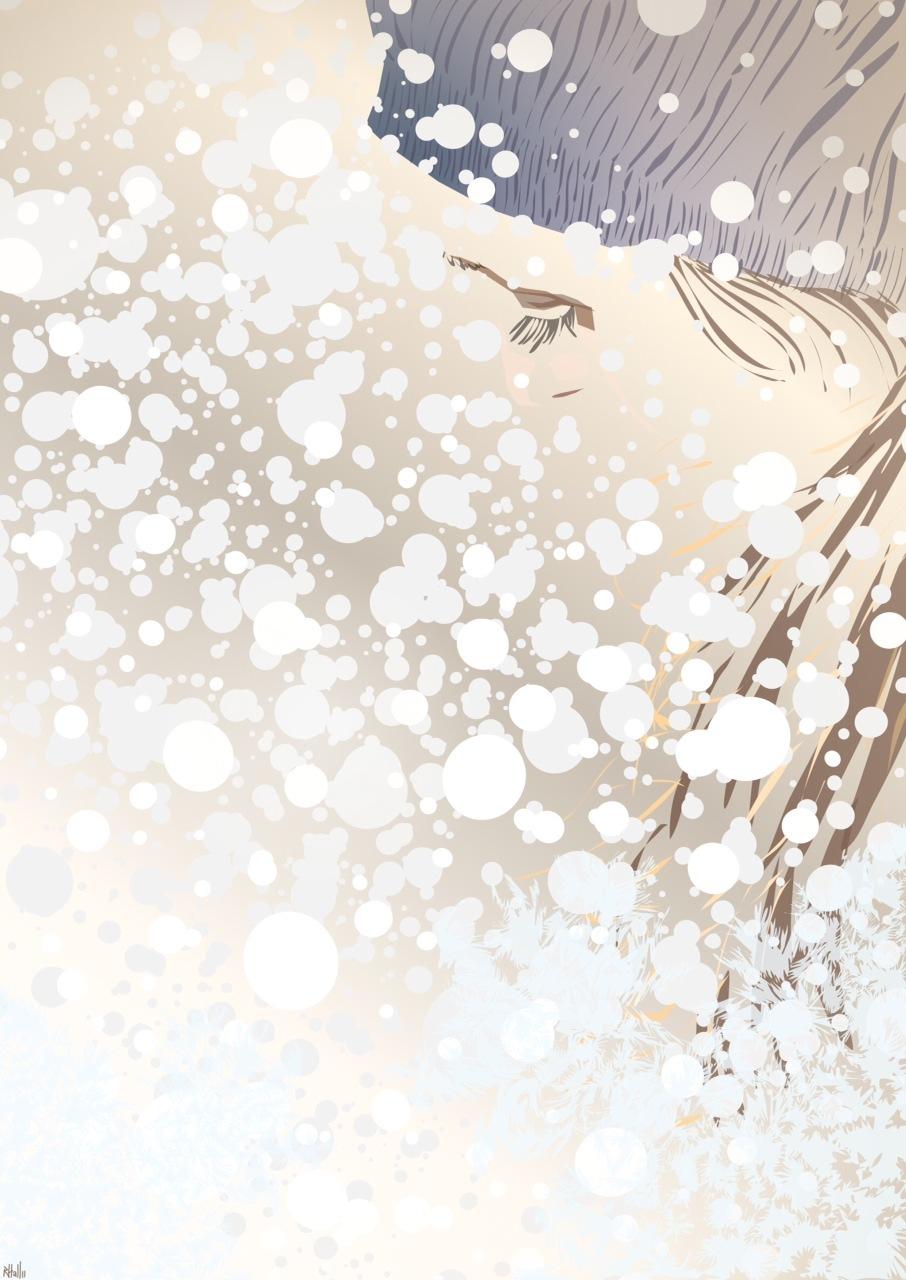 Snowblind iPad painting Inkpad winner