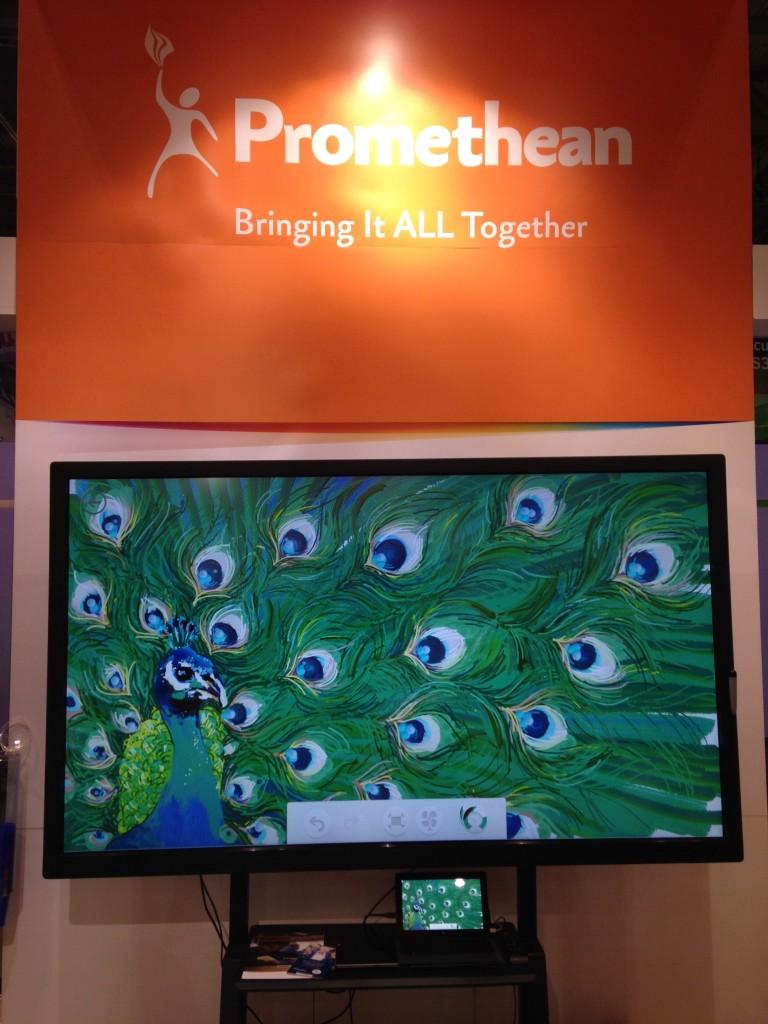 promethean activpanel art with Microsoft freshpaint app bett