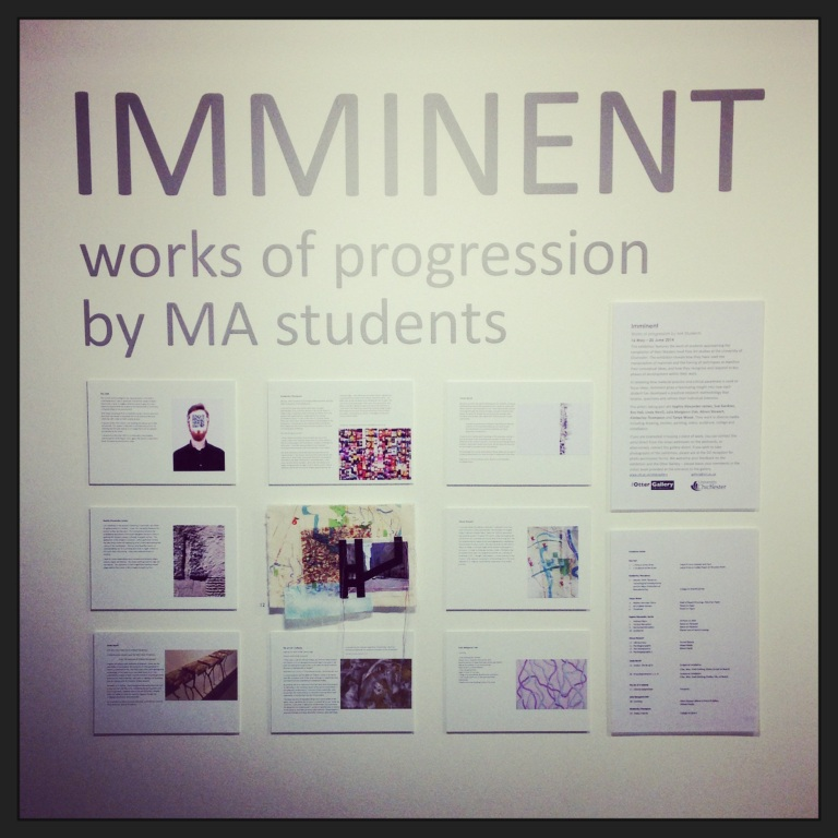 IMMINENT exhibition information