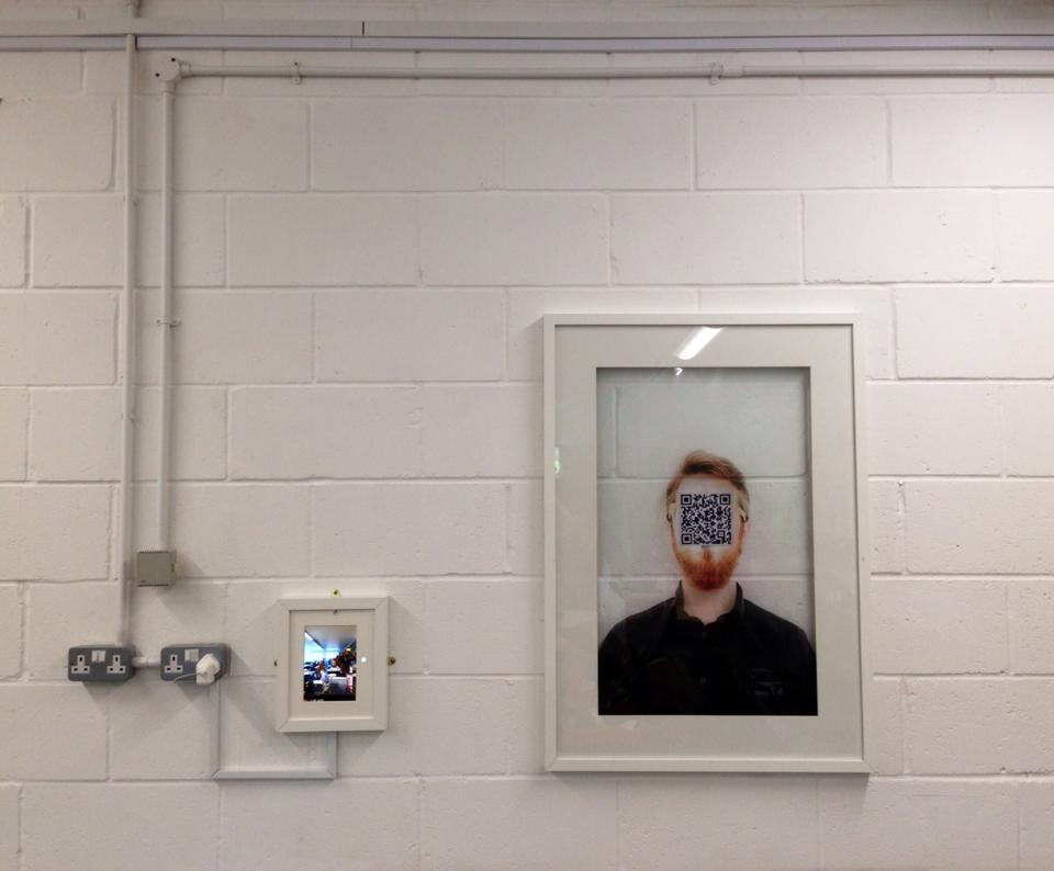 Selfie iPad art