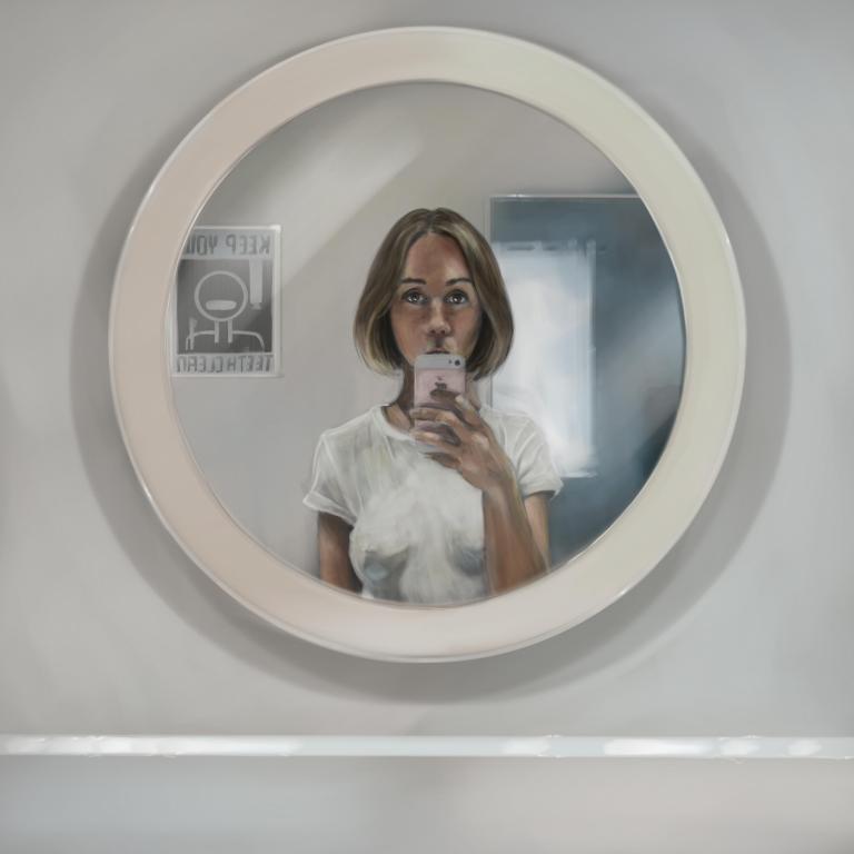 Selfie art surface pro
